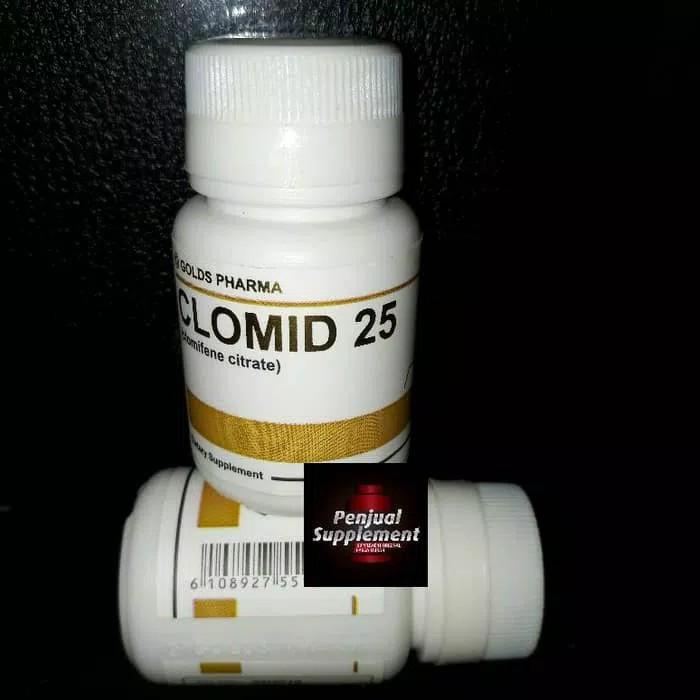 ASLI!!! Clomid Golds Pharma 25mg x 60 tab Clomiphene citrate goldspharma - az0Qv7