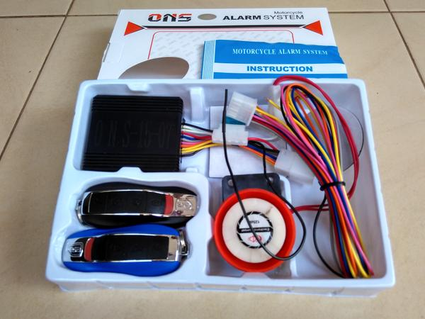 BEST SELLER!!! ALARM MOTOR ONS / REMOTE STATER ON OFF - fIFELK