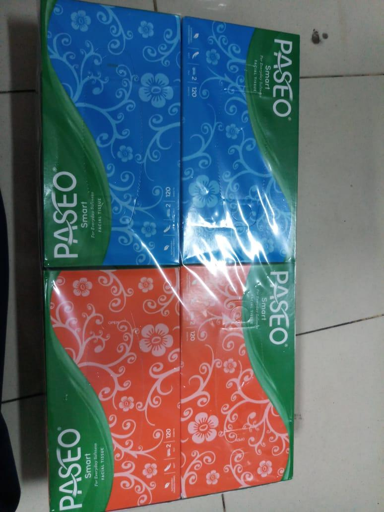 Buy Sell Cheapest Tisu Paseo Best Quality Product Deals Tissue Travel Pack 50 Sheets 2 Ply 4 Pcs Box Original Smart 120