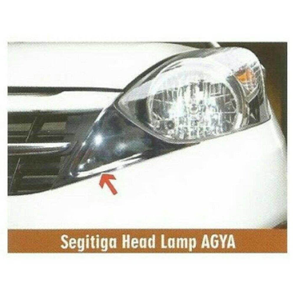 JSL  segitiga head lamp - Garnish Untuk Headlamp agya dan ayla