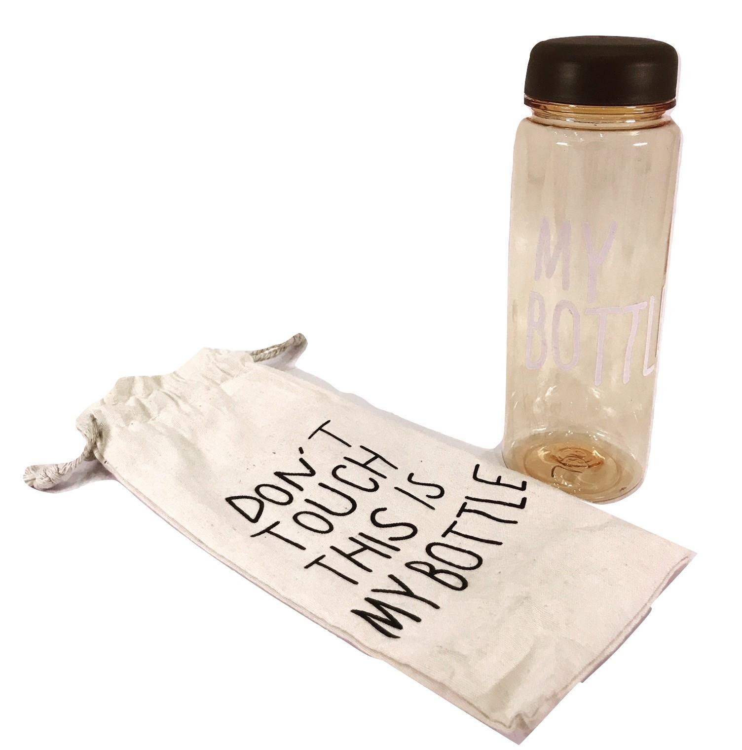 Jual Produk My Bottle Botol Minum Transparant Motif Kucing