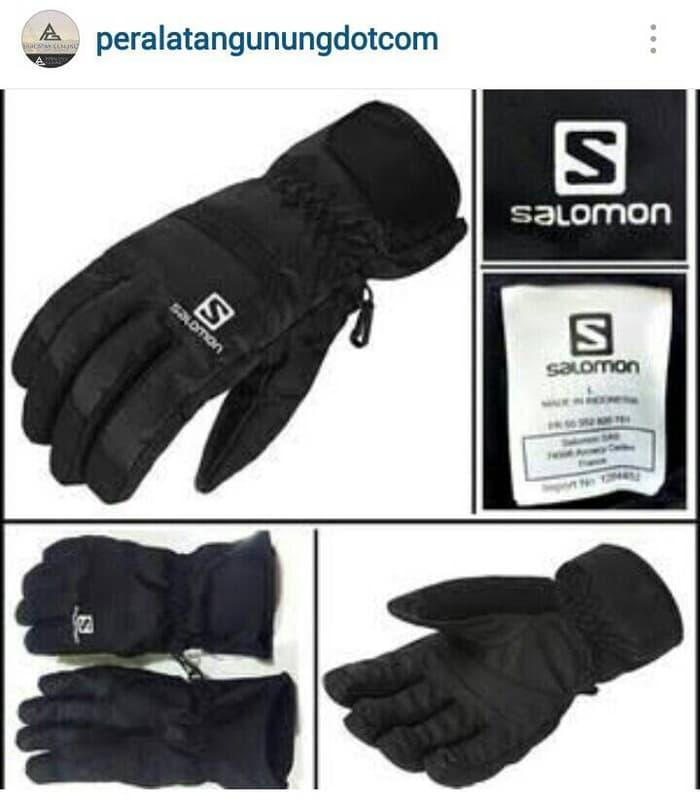 BEST SELLER!!! Sarung Tangan Gunung SALOMON Gore-Tex - 86g2J2