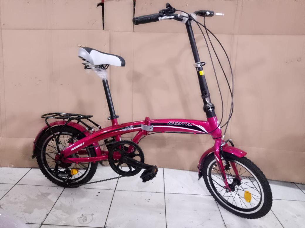 sepeda anak 16 lipat exotic 2026 mk gigi 7 sp girnya pakai bering