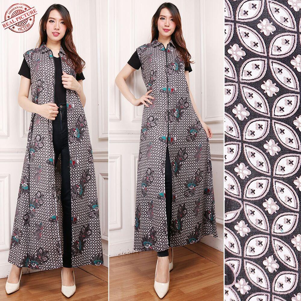 Top 10 Punto Medio Noticias Model Blazer Batik Wanita Muslimah