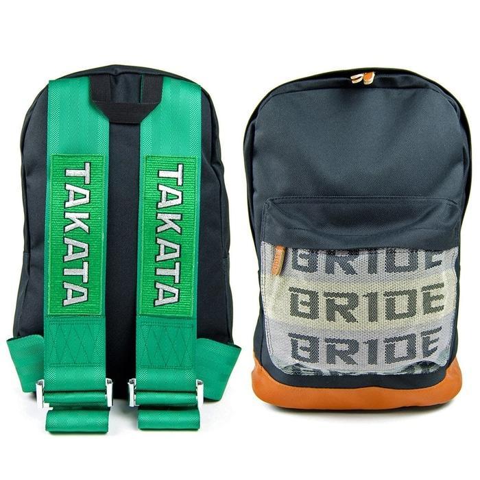 Best Seller!! BRIDE TAKATA BACKPACK GREEN / TAS RANSEL TAKATA JDM HIJAU - ready stock