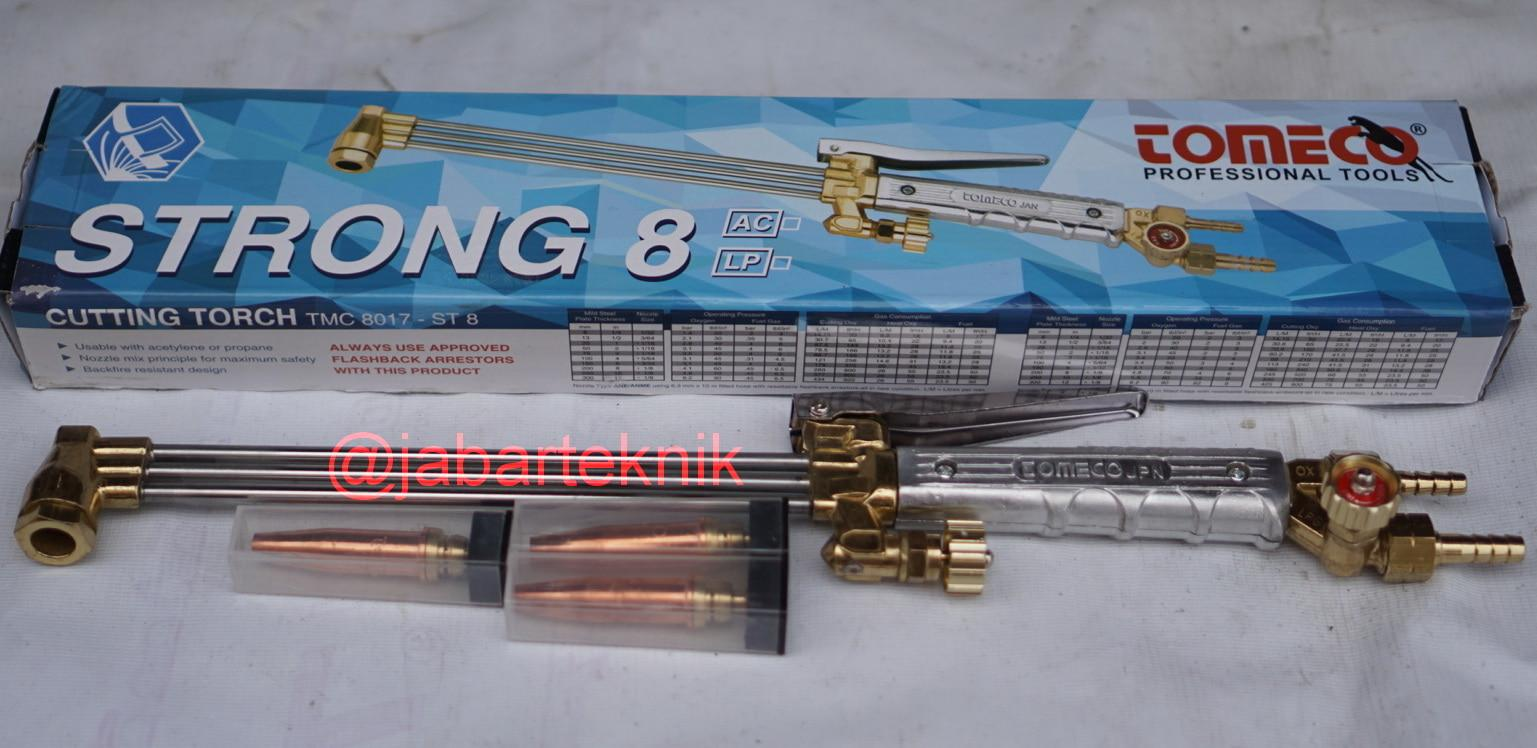 CUTTING TORCH STANG LAS BLENDER ST 8 LPG TOMECO SET