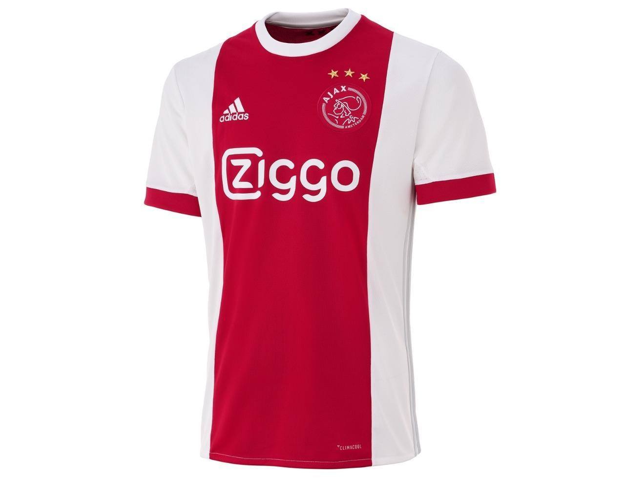 Zoc - Jersey Olahraga Sepak Bola Timnas Ajax Home 2018 - 2019