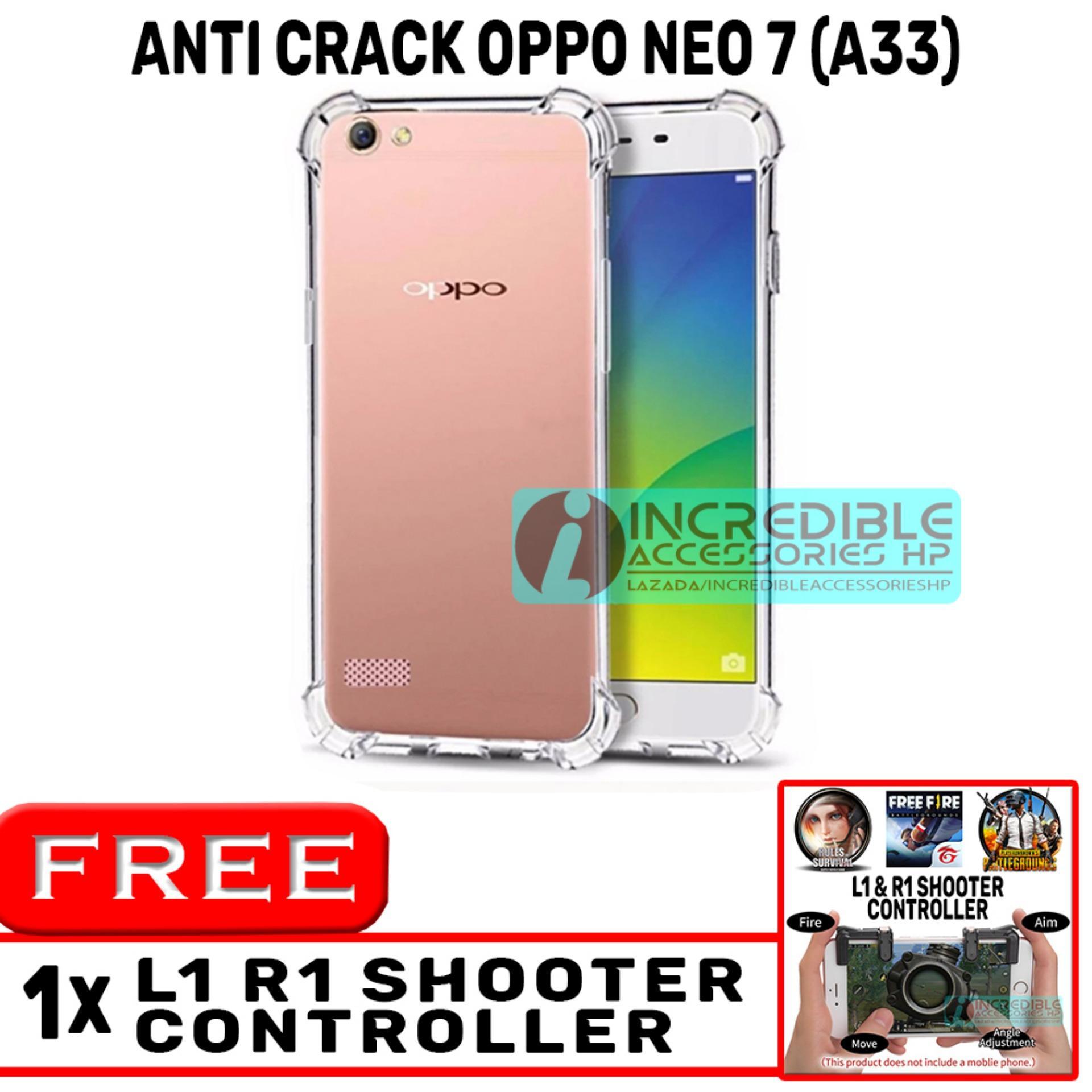 Anti Crack for Oppo Neo 7 A33 Softcase Elegant Anti Shock Jelly Case .