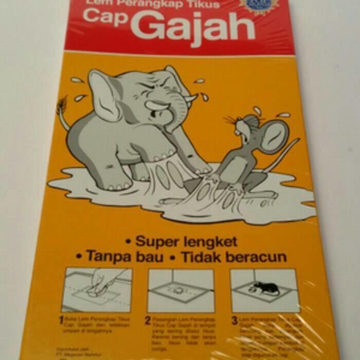 PROMO Lem Perangkap Tikus Trap Cap Gajah 75 Gram TERLARIS