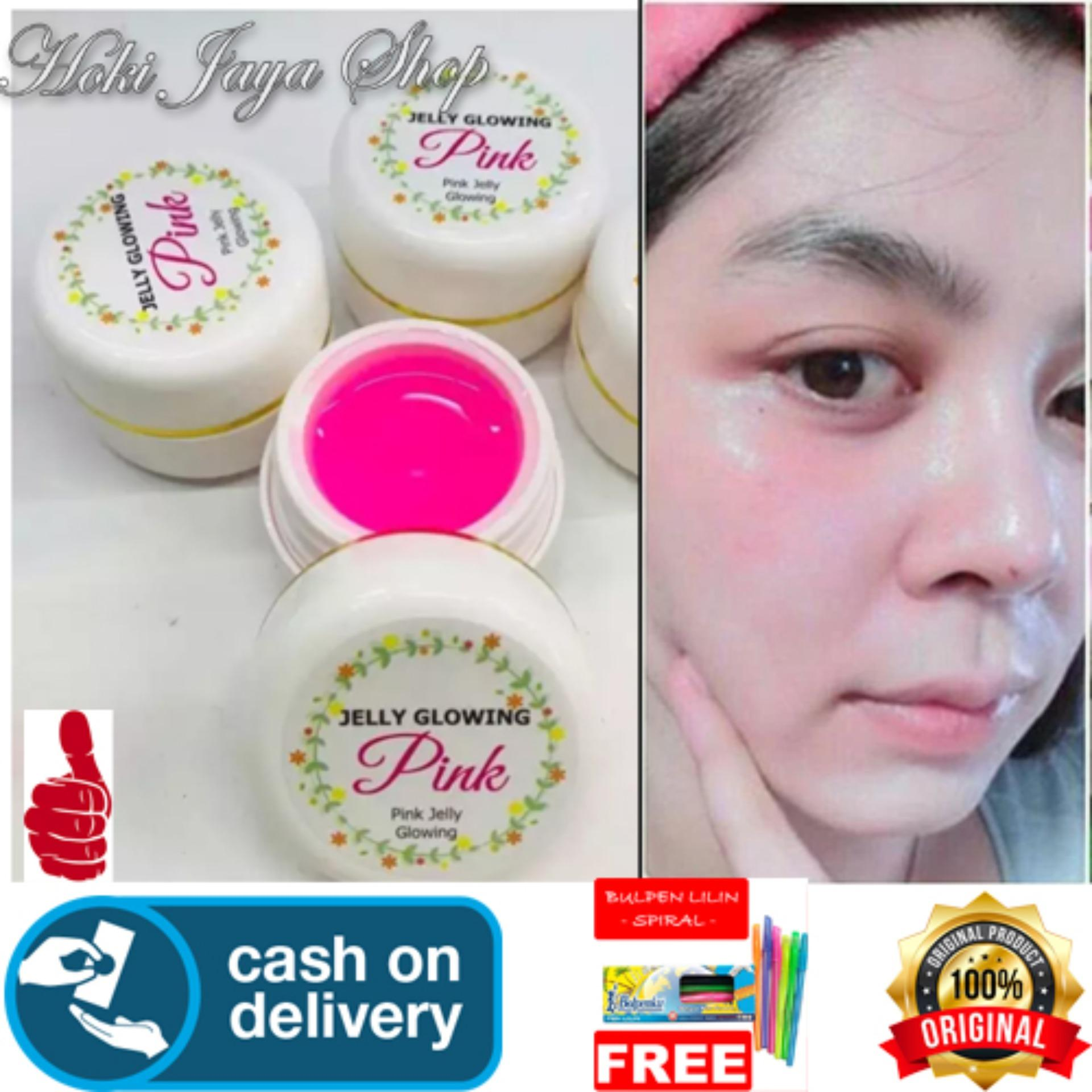 Buy Sell Cheapest Cream Hn Kemilau Best Quality Product Deals Hoki Cod Jelly Glowing Pink Whitening Original 100 Gratis Pulpen