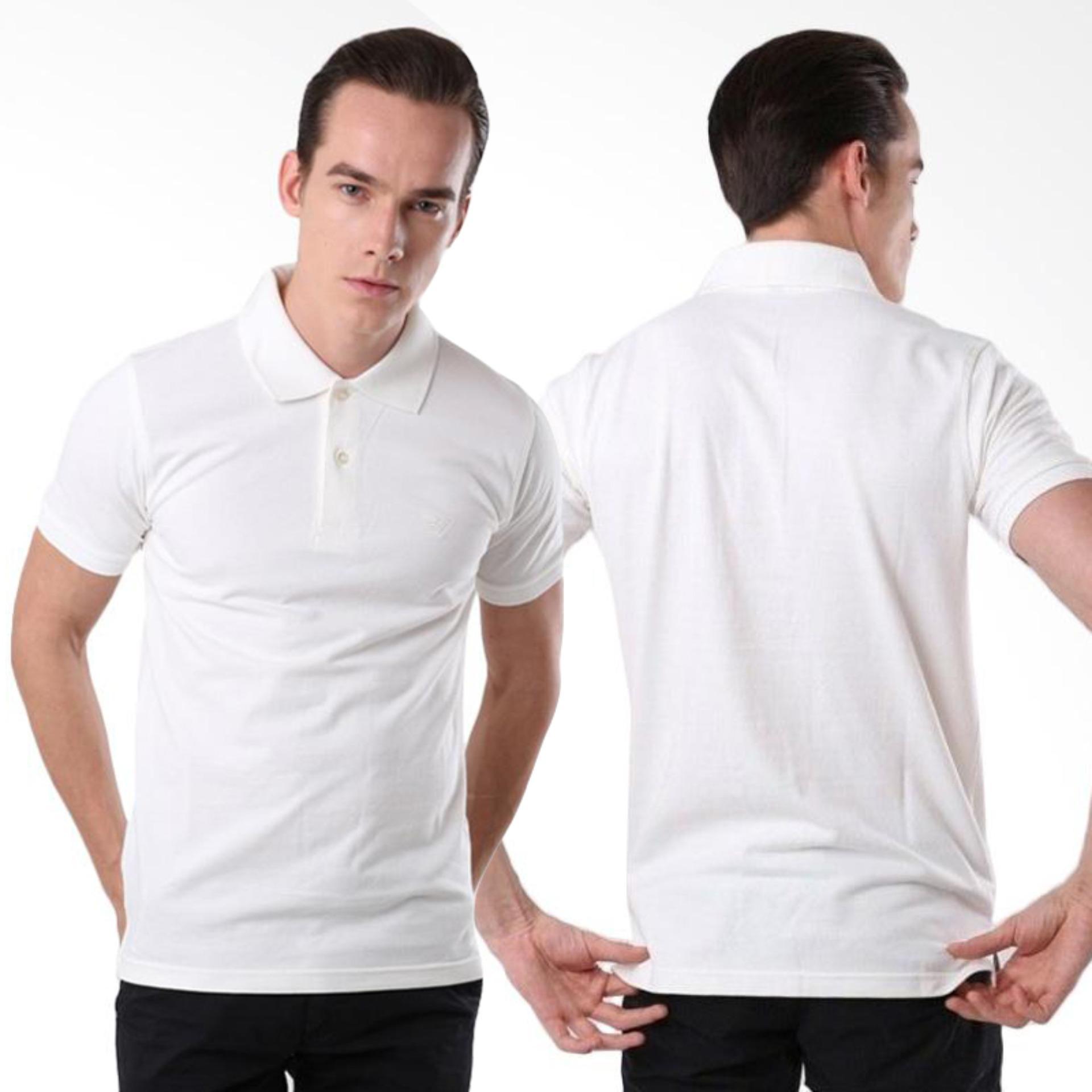 ATT - Baju Kaos Kerah Polos - SJ66 - Polo - Lacos