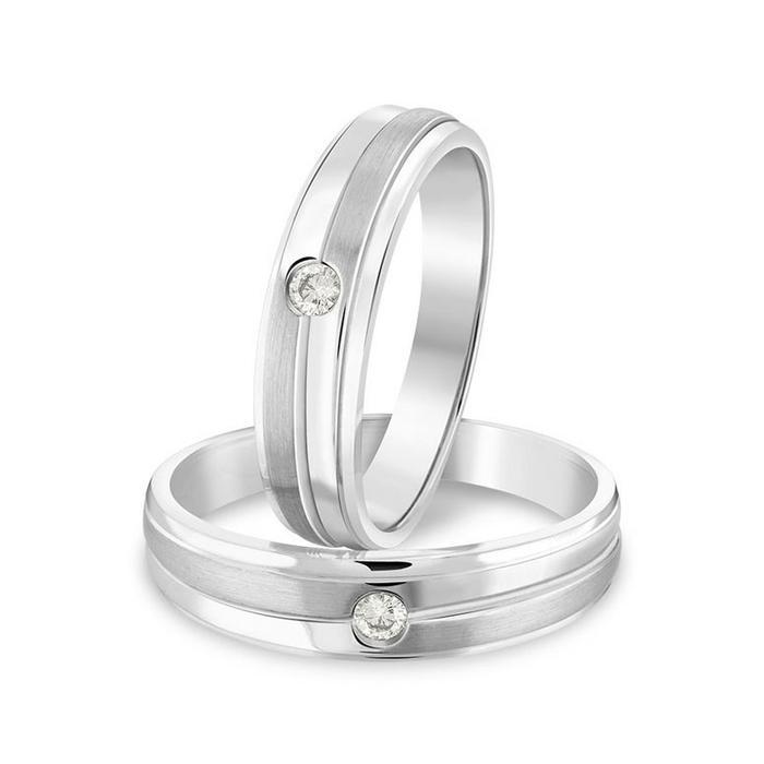 Cincin Pernikahan Cincin Tunangan Cincin Kawin Couple Bahan Perak