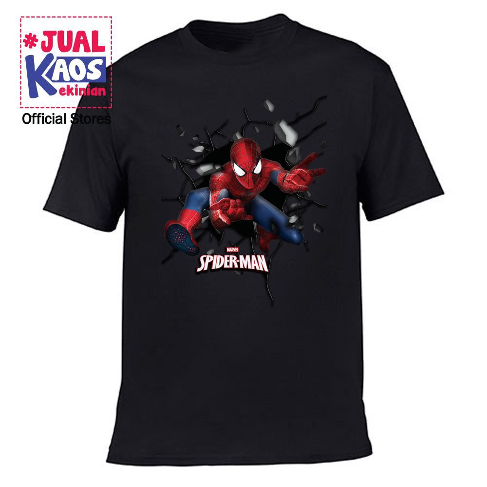 Kaos JP 1 Jual Kaos Jualkaos murah / Terlaris / Premium / tshirt / katun / distro / family / anak / surabaya / Super hero / Spiderman