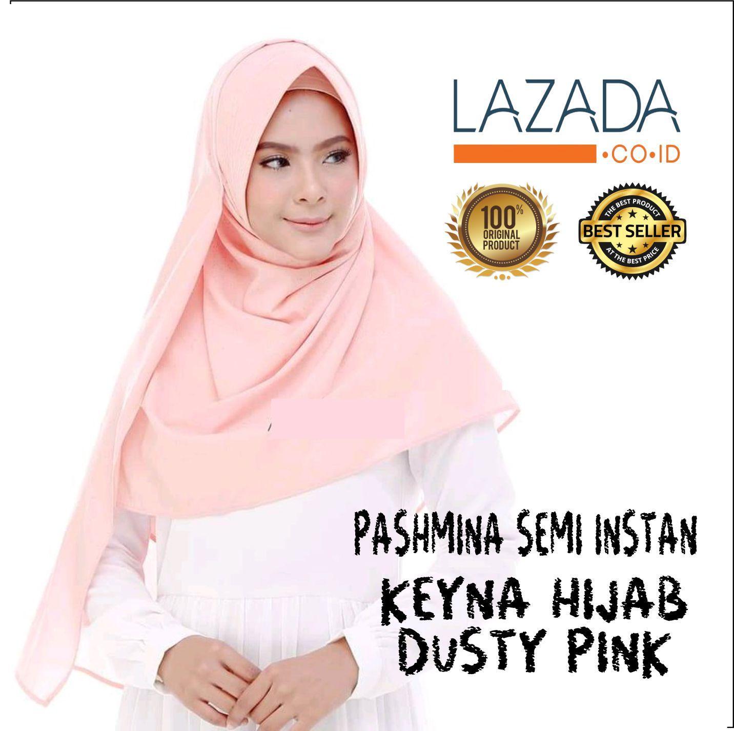 Montaza Hijab Jilbab Instan Ungu Kerudung Geblus Pashmina Hdn868 Source · Montaza Hijab Premium Katun Jilbab