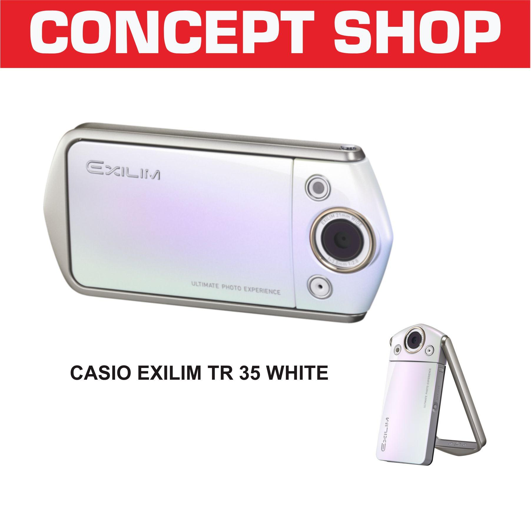 CASIO EXILIM TR 35 WHITE. TR 35 KAMERA DIGITAL