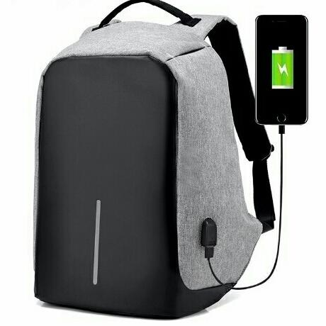 Smart Backpack READY BATAM Tas Ransel Anti Maling Anti Thief Air Anti Free Kabel USB Charger 99