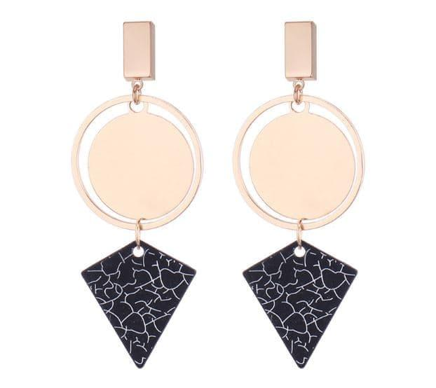 PROMO SAAT INI anting panjang fashion korea dangling earrings geometric jan128 TERLARIS
