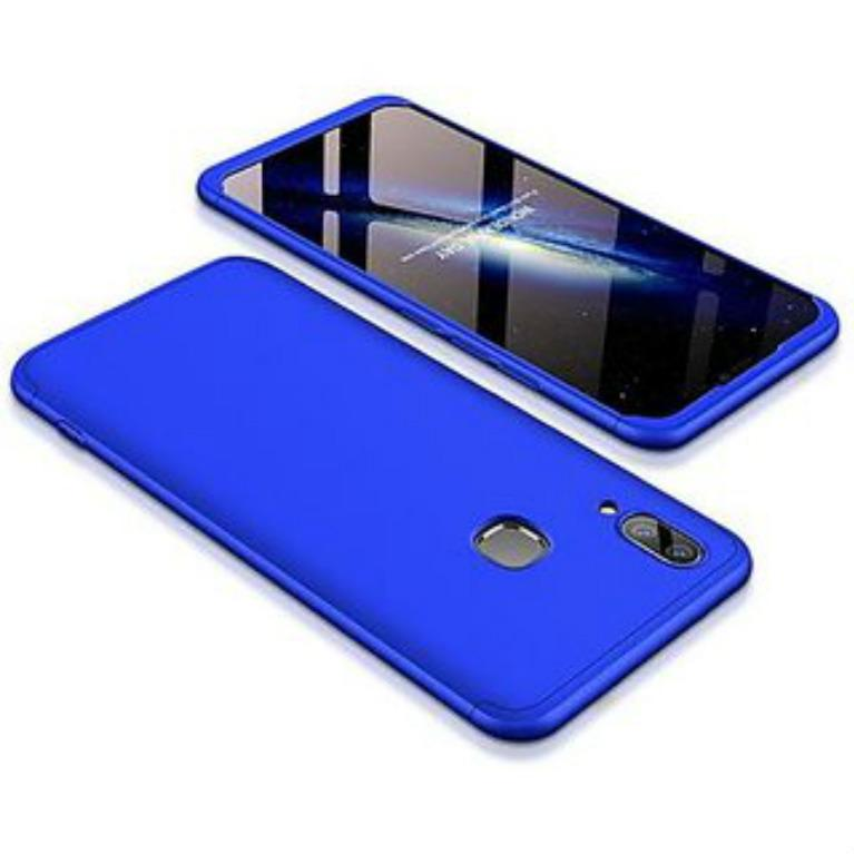 case 360 ipaky for VIVO V9 full body free Temperd glas
