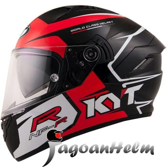 Helm KYT Casco NFR Track Red DDRING NF R SE Full Face