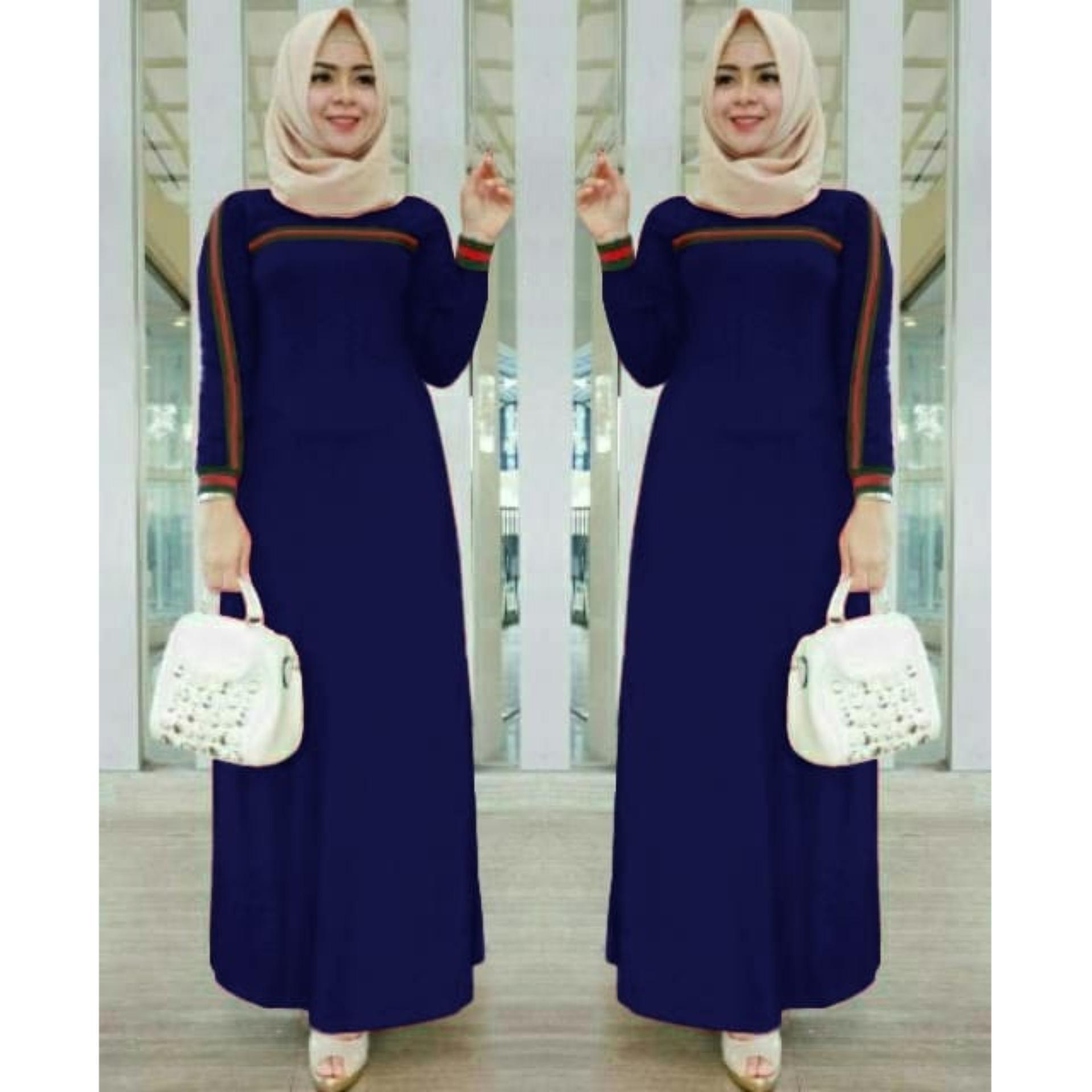 Vrichel - Maxi Dress / Long dress / Baju Muslim / Dress Wanita / Maxi Dress
