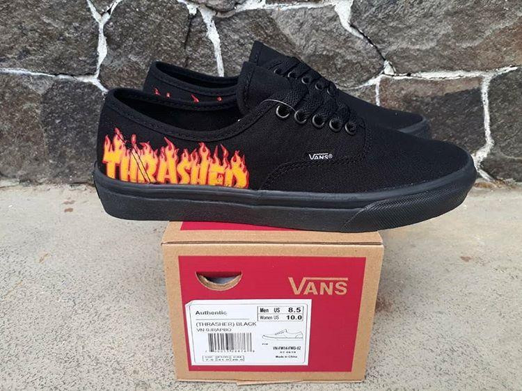 Promo Sepatu Vans Thrasher Sneakers Pria Terlaris - Daftar Harga ... 5590b4378e