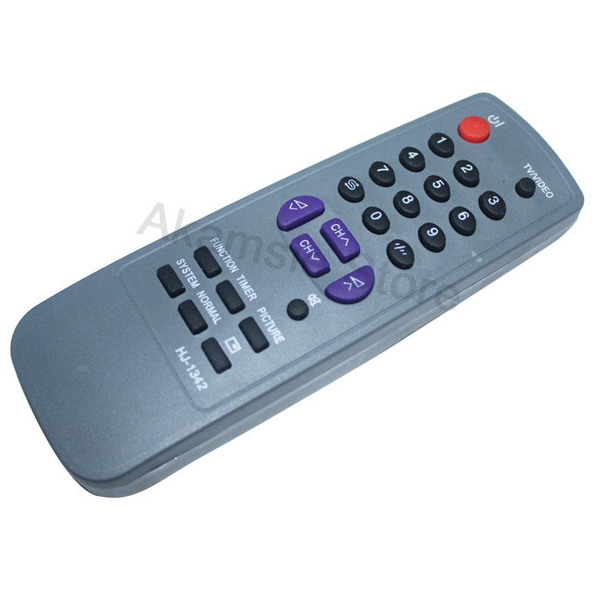 Remote TV Sharp Tabung abu-abu -tabung