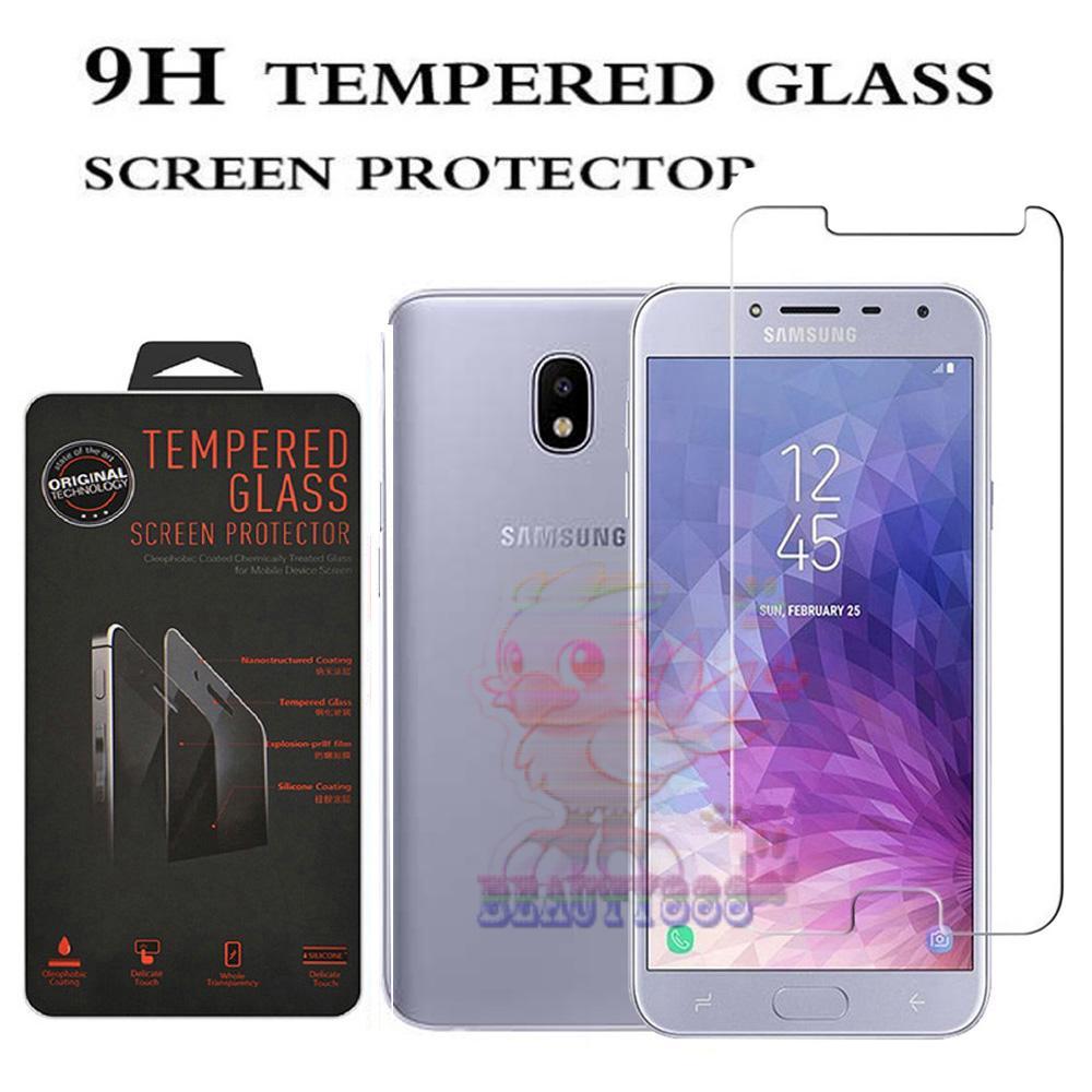 Tempered Glass Samsung Galaxy J4 2018 Ukuran 5.5 Inch Temper Anti Gores Kaca 9H / Pelindung Layar / Temper Samsung Galaxy J4 2018 / Screen Guard / Screen Protection / Anti Gores Kaca Samsung J4 2018 / Temper Kaca - Transparant