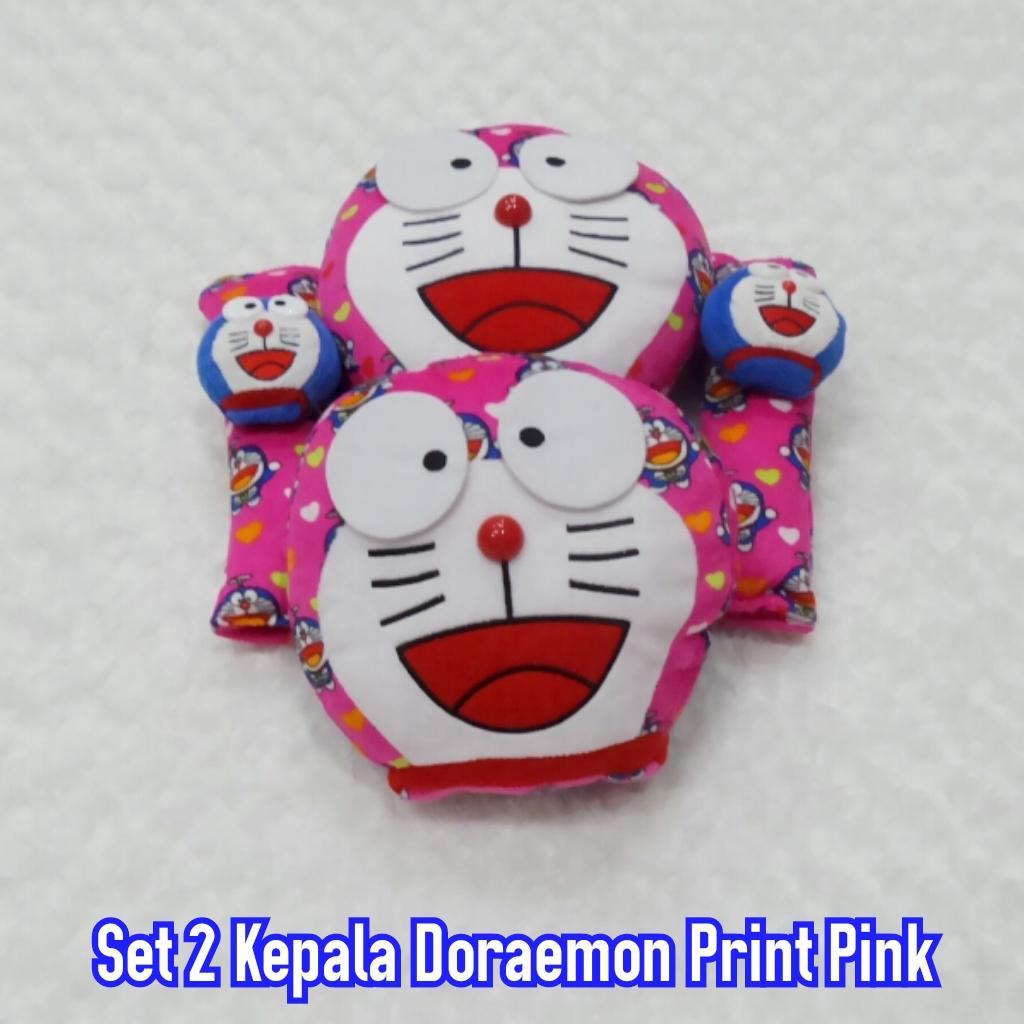 Dialogue Baby Bantal Peang Guling Print DGB6013 Shopee Indonesia Source · Set 2 Kepala Doraemon Print Pink