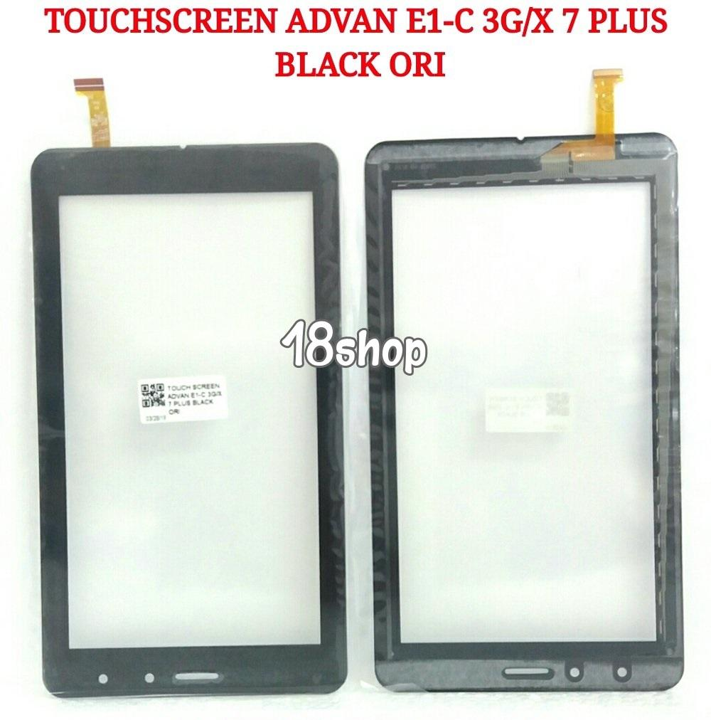 Touchscreen Advan E1-C 3G X 7 Plus. Layar Sentuh Advan E1-C