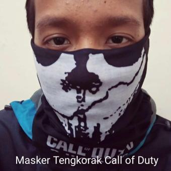 Harga Penawaran Masker Buff Motif Tengkorak Import discount - Hanya Rp6.055