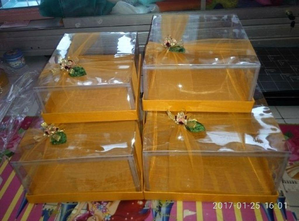 Kotak Hantaran 1Set Isi 6Pcs Model Tile Lebar