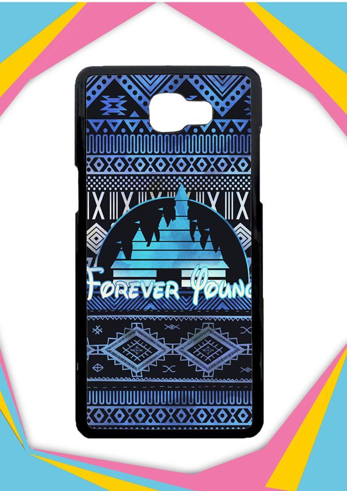 Casing Samsung Galaxy J5 Prime Custom Hardcase Forever Young Disney Aztec Pattern Design Z5414 Case Cover