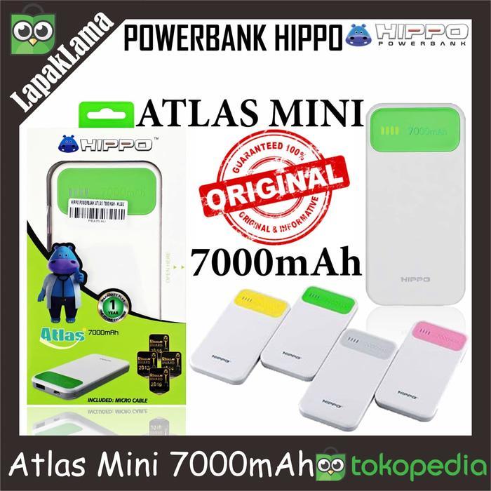 PowerBank Power Bank HIPPO Atlas Mini 7000mAh Original 100% Powerbank