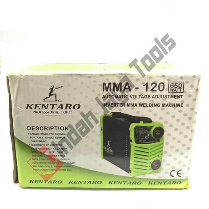 Mesin Travo Las KENTARO 120 A 650 Watt Listrik Mini Inverter Trafo