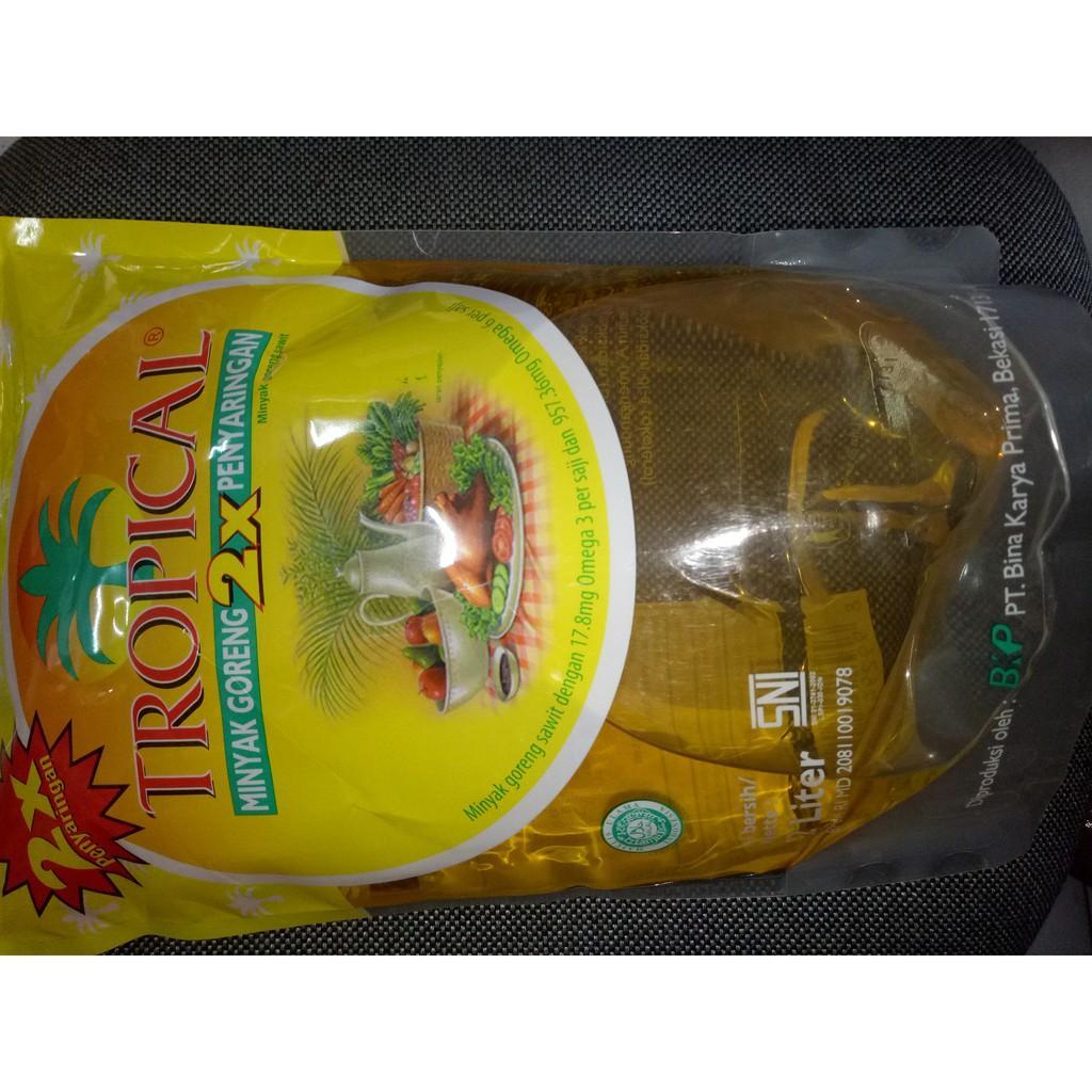 Minyak goreng Tropical 2liter per dus (6bks) Variasi Tidak Ada