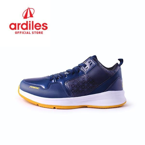 Ardiles Men Pride Basket Shoes - Navy Kuning