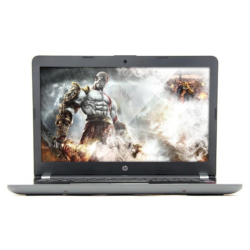 HP Notebook 14-BS 009TX Laptop Processor Core I5-7200 - Ram 4GB - Harddisk 1000GB- VGA Amd Radeon 2GB