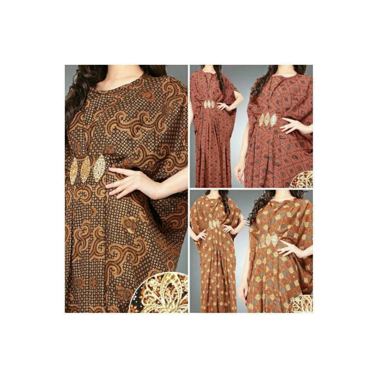 PRI-ES Kaftan Batik kuningan New Kaftan Style SP125