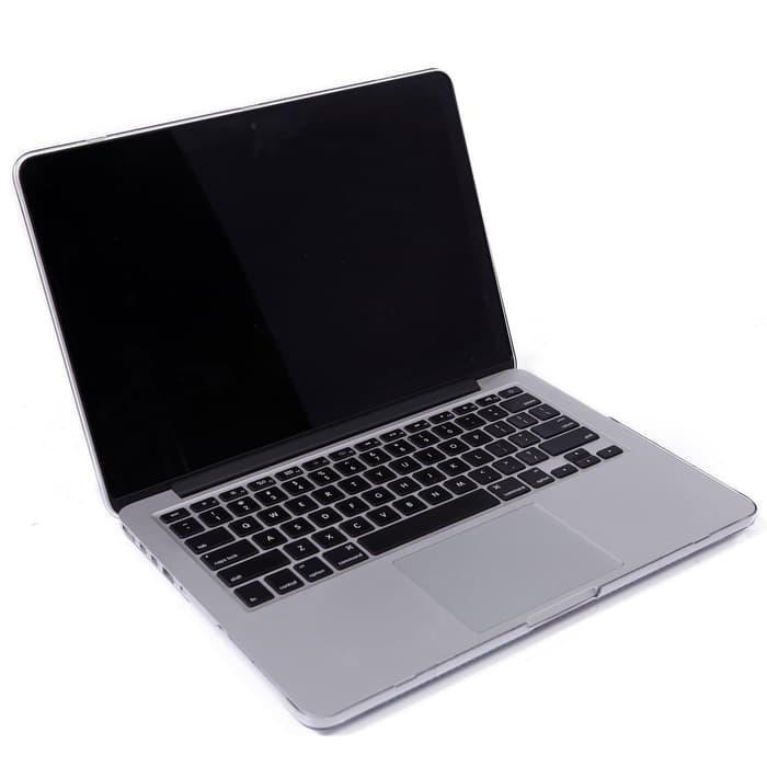Promo Case Macbook Pro 13 Clear Cover Hardcase Transparant (with DVD Rom) original