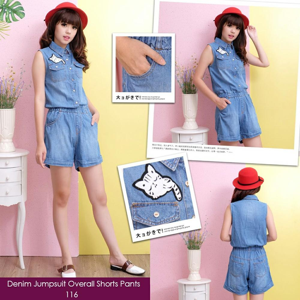 ... Wanita Source · Rp 108 000 Jumpsuit overall short pants Bahan jeansIDR108000 Rp 109 800 Cj collection Dress overall