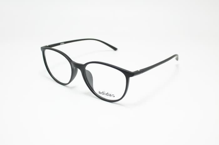 DISKON!!   Frame Kacamata Minus Baca Fashion Adidas Lentur Oval Pria Wanita