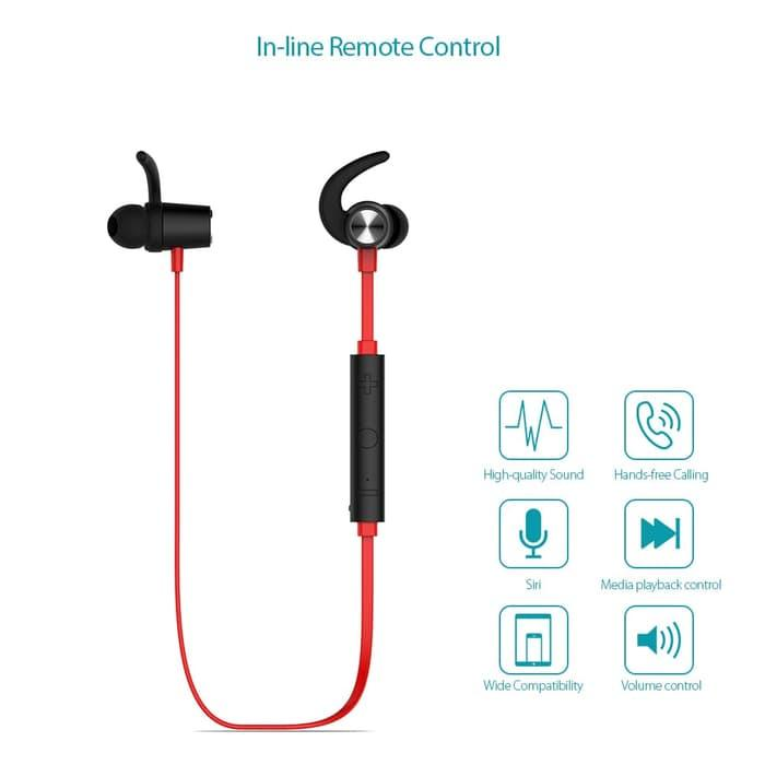 Dodocool Magnetic Wireless Stereo Sports In-Ear Headphone with HD Mic