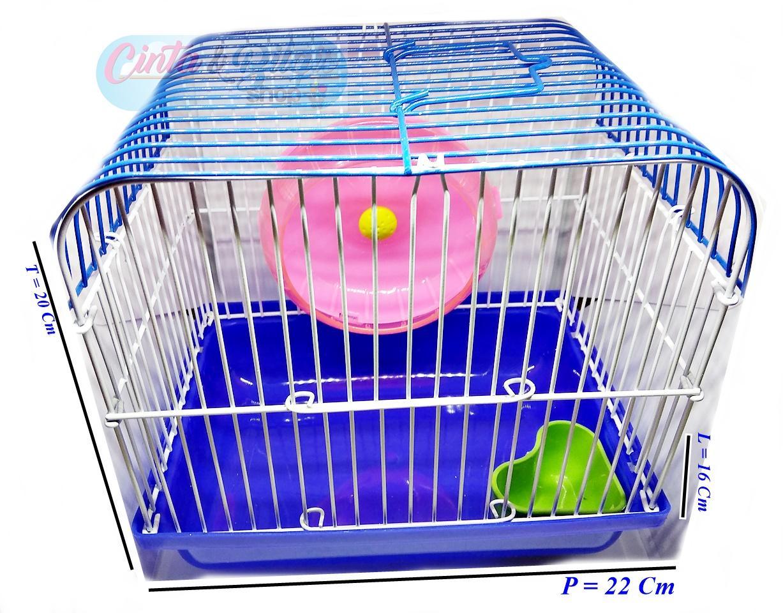 Kandang Hamster - Biru By Cinta & Bilqis Shop.
