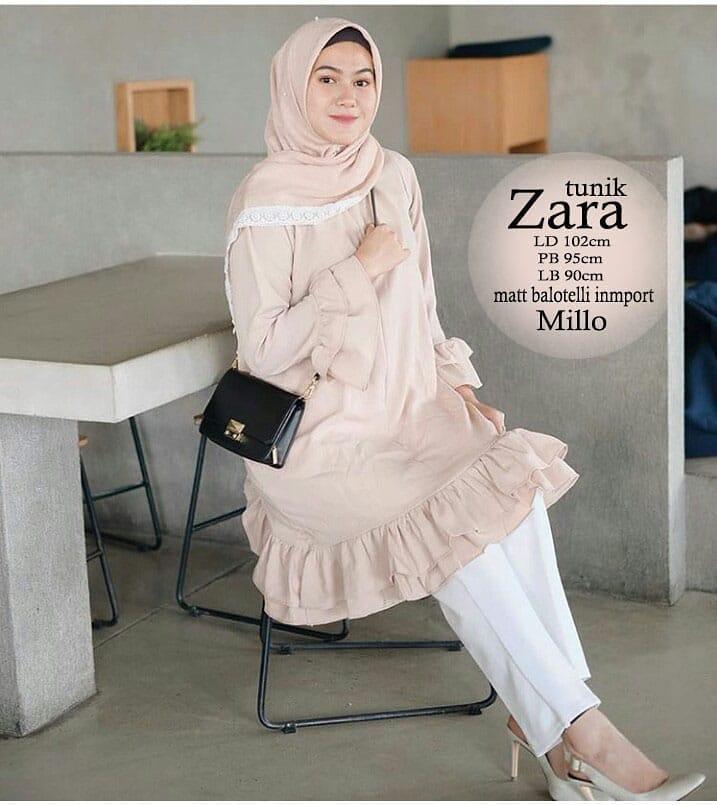 Baju Wanita Zara Tunik Baju  Muslim Murah