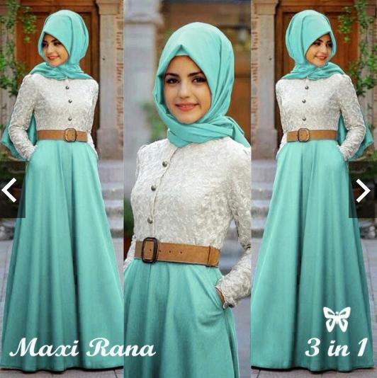 IndonesiaHeritage Gamis Pesta Premium Elegan Brukat Brokat + Free Hijab Jilbab pashmina + Belt besar - Formal Wisuda Remaja  kantor  Kerja Casual - Kebaya pesta Modern - Fashion Busana Kondangan Muslimah Muslim Wanita  -  gaun Pesta Party Dress ihrana