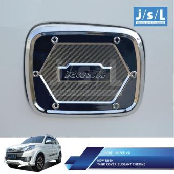 Price Checker New Toyota Rush Cover Tutup Bensin JSL Tank Elegant Chrome Pencari Harga