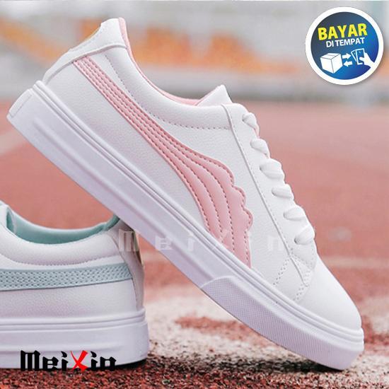 Mei Xin Sepatu Kets Sneaker Gergaji / Sepatu Ket Cantik Wanita
