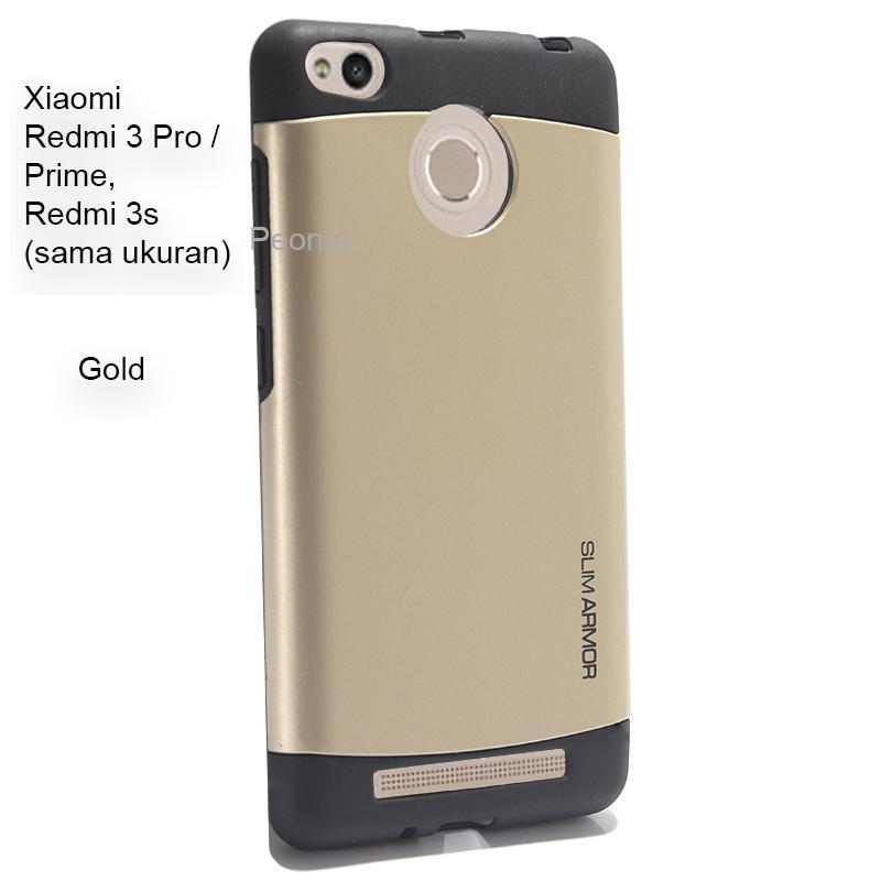 Peonia Hardcase Slim Armor for Xiaomi Redmi 3 Pro / Prime, Redmi 3s ( Gold