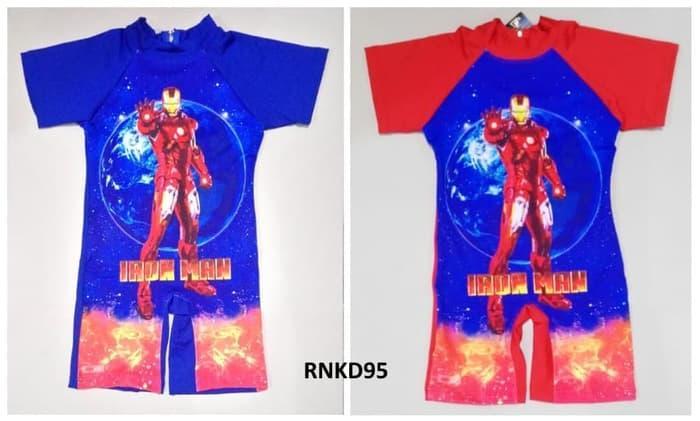 Baju Renang Anak Cowok Swiming Suit Anak Laki Ironman