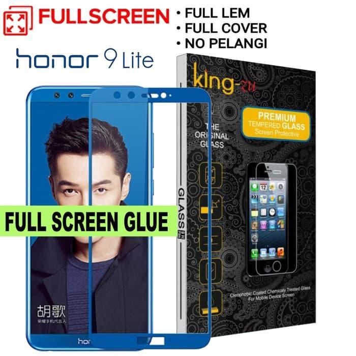 glass for King Zu BIRU HUAWEI HONOR 9 LITE full glue tempered glass for HUAWEI HONOR 9 LITE screen